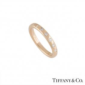 Tiffany & Co 18k Rose Gold Elsa Peretti Stacking Ring